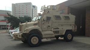 wonkhe Armoured truck