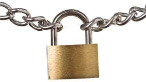 Wonkhe Chain padlock