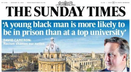 sunday-times-university-race-headline-wonkhe