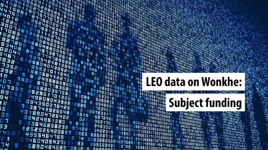 LEO-data-wonkhe-subject-funding