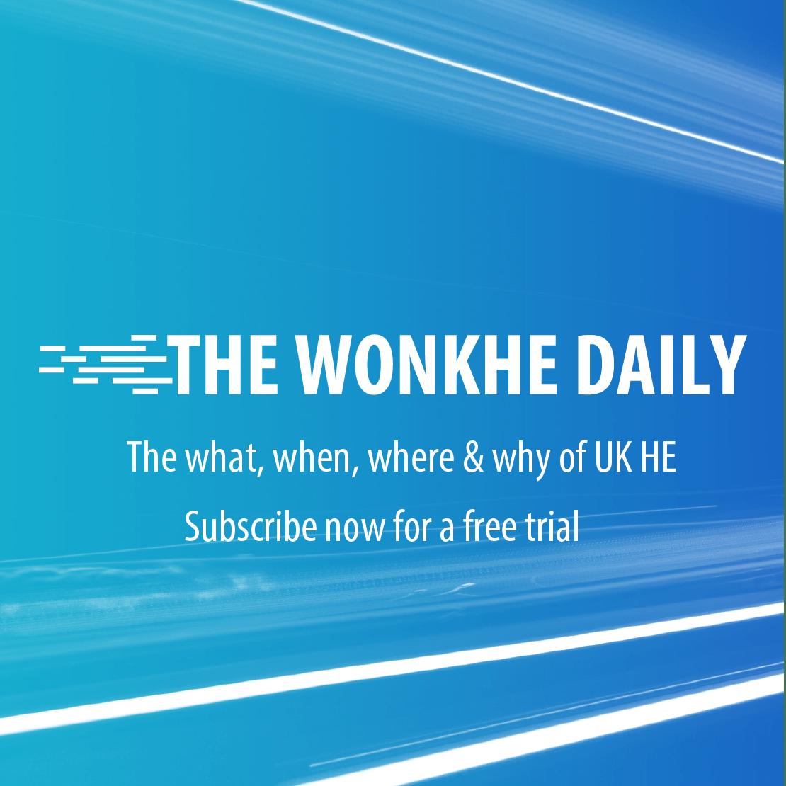 wonkhe daily