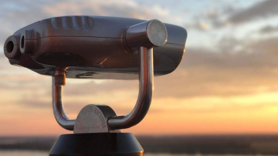 future-look-gaze-telescope-sunset-wonkhe-mark-leach
