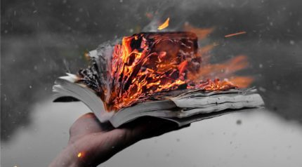 burning books on boxing day