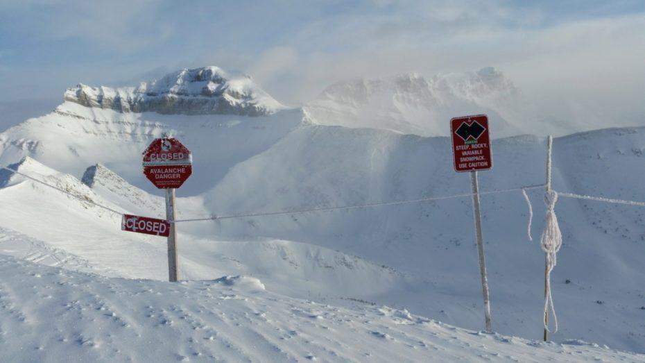 Wonkhe avalanche mountains