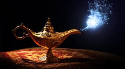 Wonkhe lamp genie