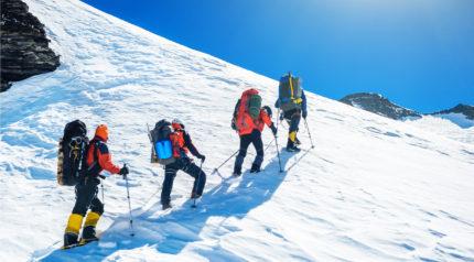 Wonkhe mountaineers