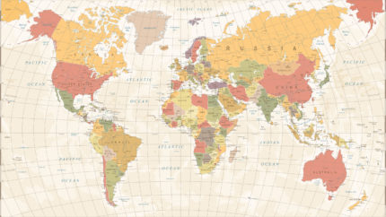 wonkhe-vintage-world-map