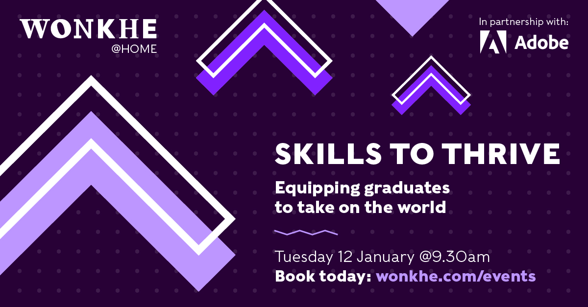 Image of Wonkhe @ Home: Skills to thrive